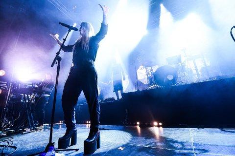 TIl Lofoten: Highasakite kommer til Lofoten i sommer. Her fra en konsert i Bodø i 2017.