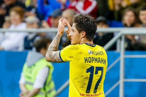 Ny kontrakt: Mathias Normann har skrevet under på en kontraktsforlengelse med FC Rostov.