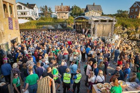 Trevarefest 2020 er avlyst.  Bildet er fra fjorårets festival.