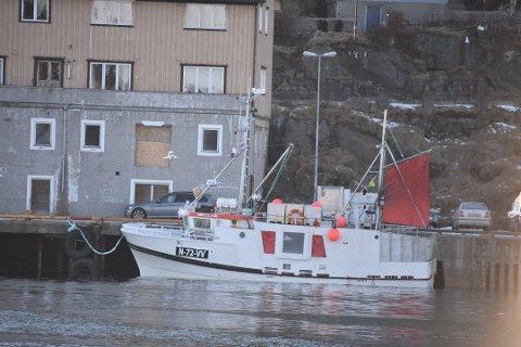 """FANGSMASKIN: """"Stamsundværing"""" er knapt 15 meter lang, men i fjor ble det levert over 1000 tonn fra denne båten. Hittil i år er det levert 850 tonn."""