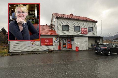 Løsning: Det går mot en løsning for butikken i Laukvik. Veronica Aanesen har sagt seg villig til å være kjøpmann, og trolig blir Matkroken butikkjeden i Laukvik.