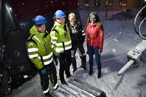 Alf Brekken & Sønner AS fikk oppdraget med å fornye dreneringen ved Svarholt skole i Stamsund.