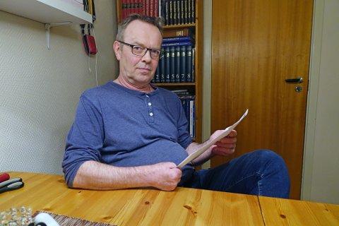 - FRUSTRERENDE: - Det er helt klart frustrasjon med i bildet, sier Rune Mikalsen, om å bruke tid og krefter på regninger som er feil.