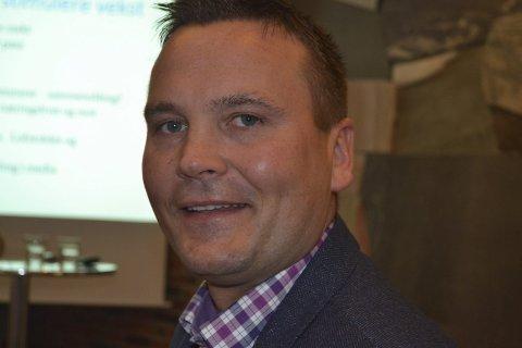 Positiv: Ketil Benjaminsen er positiv til flyplass på Leknes.