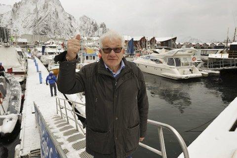 Leder Sten Ståle Sortland sier det meste nå er klart for Lofotcupen og VM i skreifiske 2019