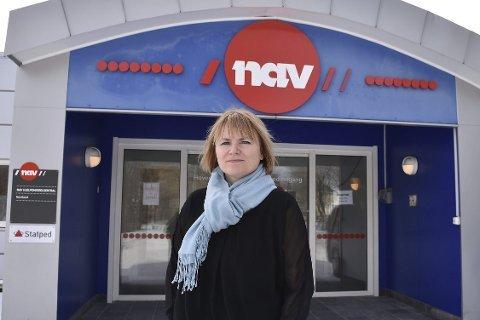 YTELSER: Direktør i NAV Nordland, Cathrine Stavnes, mener redusert frafall i videregående skole er viktig for å sikre flere arbeid. FOTO: Avisa Nordland