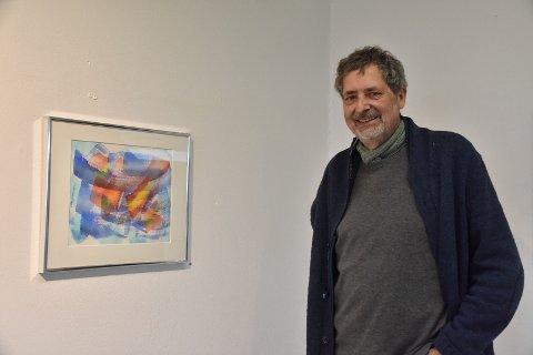 Ny utstilling: Christian-Ivar Hammerbeck er aktuell med ny kunstutstilling i Svolvær kunstforening sine lokaler.