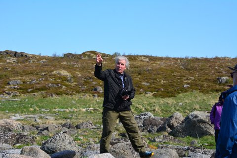 En entusiastisk Arthur Johansen.
