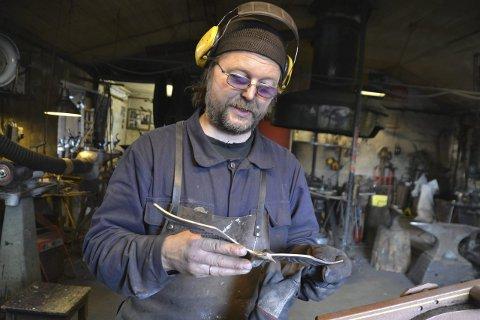 INNBRUDD: Tor Vegard Mørkved eier og driver Fiskerimuseumet i Sund.