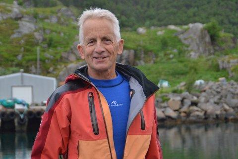 VELKOMMEN: Svein F. Hansen og de andre ildsjelene i Steinfjorden bygderåd håper at mange tar turen til Tangstad lørdag formiddag.