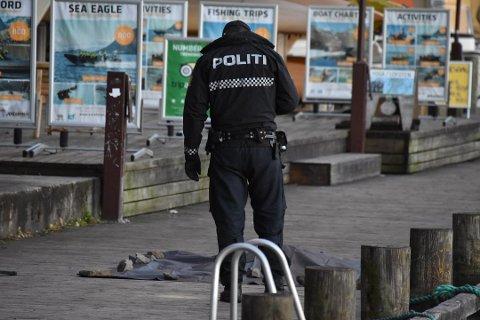Skyteepisode: Her på kaia i Svolvær ble en mann skutt 10. november i fjor