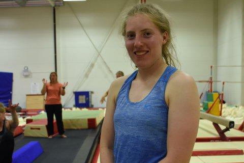 Turner: Johanna Neumann deltok på årets camp. Hun forteller at det ikke er mange treningsleirer for voksne å oppdrive.