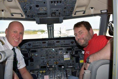 Ny tur: Lørdag 31. august letter det 12. Drømmeflyet. Denne gangen fra stedet der alt startet, Bodø