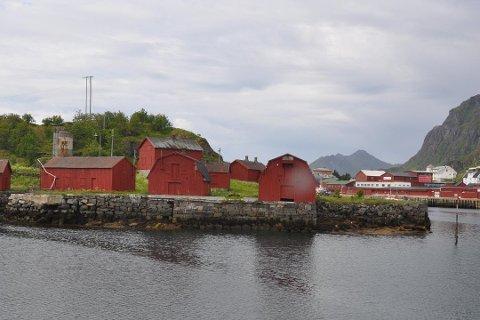 DYPERE: Tørnholmen AS fikk ja fra Kystverket til å mudre ved anlegget på Tørnholmen.