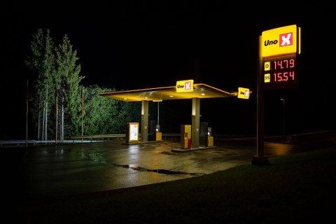 Stasjon: Fagavdelingen i Vågan foreslår at kommunen skal si nei til planene om en ny bensinstasjon  i Svolvær.. Stasjonen  som det søkes om blir noe mindre enn denne typen som er fra Nittedal.