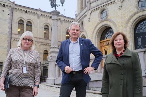 BEREDSKAP: Siv Mossleth (Sp), Arne Nevra (SV og Ingalill Olsen fikk ikke transportkomiteen med på å opprettholde beredskapskontoret i Kabelvåg.