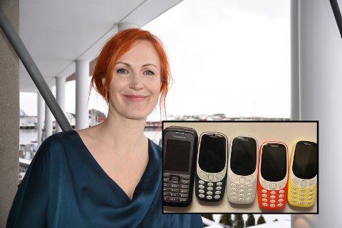 DETOX: Lena Amalie Hamnes og familien har lagt fra seg smarttelefonen i jula.