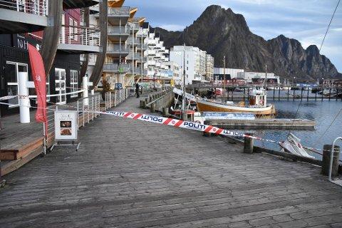 Lettet: Offeret etter skyteepisoden i Svolvær i 2018 er fornøyd med dommen i Lofoten tingrett