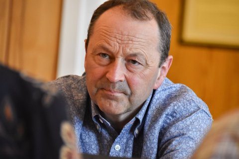 Frank Johnsen (Sp), ordfører i Vågan kommune.