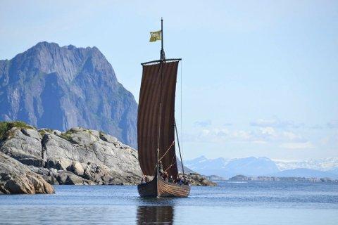 TILGANG TIL HAVET: Lofotr vikingemuseum vil ha lettere tilgang til havet for sine to skip.
