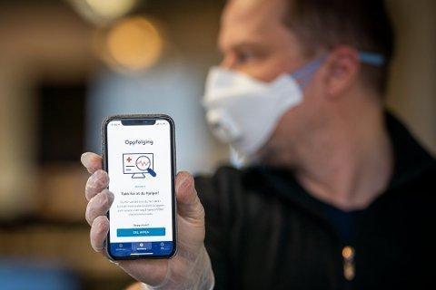 Smittestopp: FHI lanserte torsdag sin nye app Smittestopp. Den har skapt debatt, både på godt og vondt.