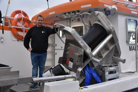 TAR TORSKEN: Odd Arne Andersen tar nå siste rest av torskekvoten.