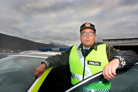 RUSTESTES: Up-sjef Geir H. Marthinsen er klar på at alle som blir stoppet av Up nå skal rus eller promilletestes.