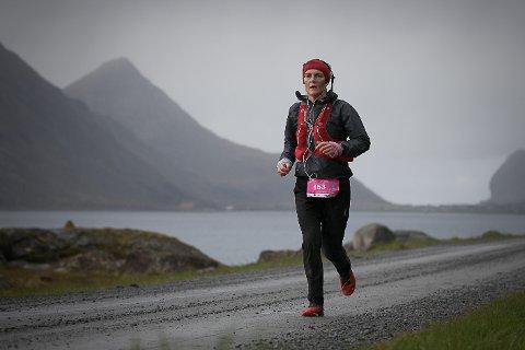 LØPER: Rakel Enoksen Hagen på ultra-trail i 2019.