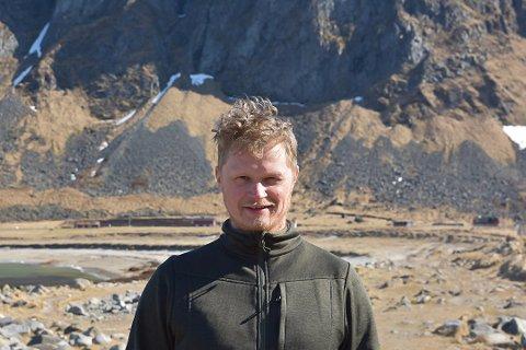 NY DRIVER: Unstad Arctic Surf har kjøpt Lofoten Turistsenter. Ole Kristian Fjelltun-Larsen (36) fra Haukland skal drive turistsenteret.