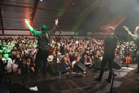PENGEMASKIN: Lofoten Countryfestival AS kunne bokføre overskudd allerede i første driftsår.