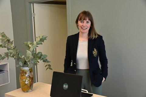 NY LEDER: Maria Krüger Enge Kirkesæther er ny leder for handelsrådet i Vest-Lofoten næringsforening.