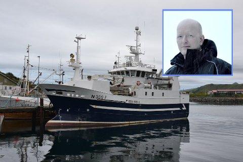 TAP: Ole-Martin Arntsen mener at rederiet tapte to-tre millioner kroner etter at mannskapet ble smittet av korona i mars.