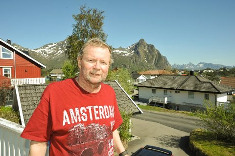 REDNING: Leder Thommy Dahl Olsen i den alpine redningsgruppen i Lofoten sier årets sommer ble stille.