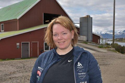 Potetbonde Elisabeth Holand.