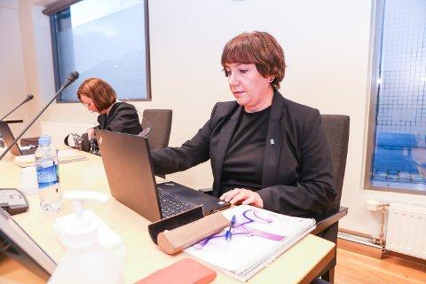 ARBEIDSLIVSKONFLIKT: Avdelingsdirektør Kari Henriksen i en annen arbeidslivsrettssak tidligere i høst.