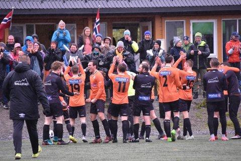 TILBAKE: Hjemmefansen kan juble - BUIL vil spille i 4. divisjonen neste sesong.