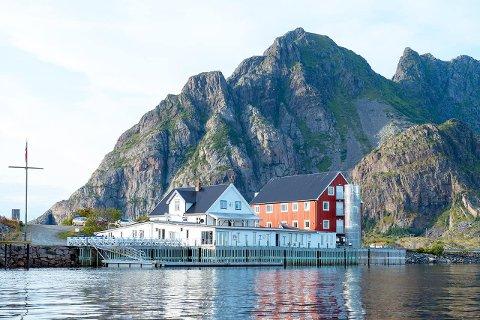Kjøpt: Lofoten Artic Hotel på Skata utenfor Henningsvær.