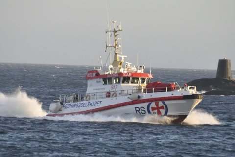 TRAVELT: Det er travle tider for alle redningsskøytene i Lofoten