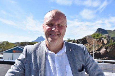 HÅPER PÅ GJENNOMSLAG: Administrerende direktør i Lofotkraft Holding, Arnt Marelius Winther, håper selskapet får godkjent sitt bud på Vesterålskraft.