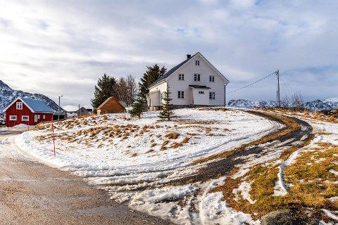 Solgt: Eiendommen i Borgvåg er solgt til en pris eierne er svært godt fornøyde med.