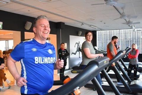 Fremgang: Viggo Henningsen har gått ned åtte kilo, og har lagt om kostholdet totalt.