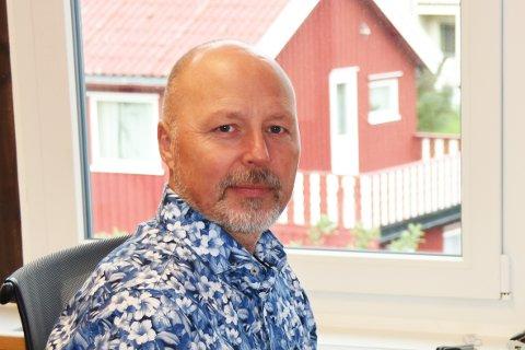 Beredskapskoordinator og informasjonsansvarlig i Vestvågøy kommune, Sigve Olsen.