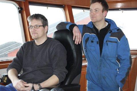 SATSER: Brødrene Børre og Trond Berg satser friskt.