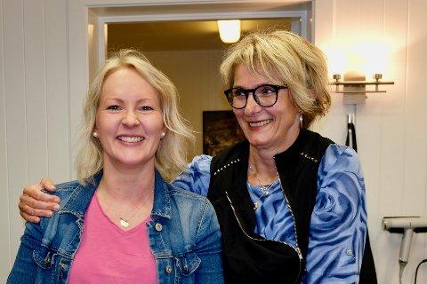 Trine-Iren Nicolaisen og Hilde Line Olsen skal jobbe side om side i Kvikk salong fra august.
