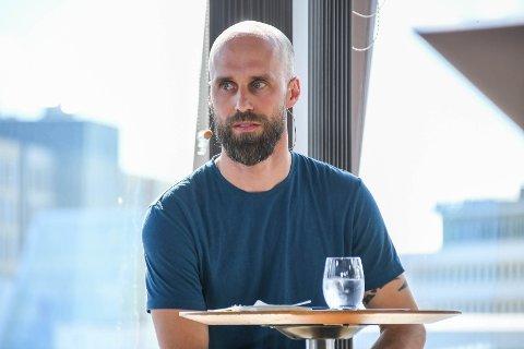 Håper på endringer: Mattias Hõrnquist deltok i debatten om Norges fremtid i Svolvær. Han mener Lofoten må tas bedre vare på.