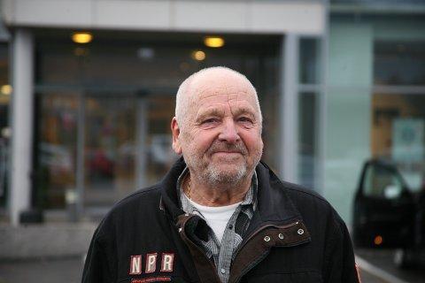 Kjell Nordheim på Leknes.