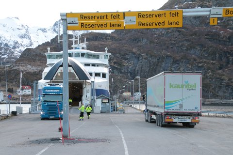 Natt til mandag 28. august blir det ekstratur med ferga fra Bodø til Moskenes.