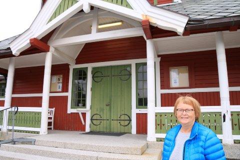 Kirkeverge Anne Lise Haakestad.