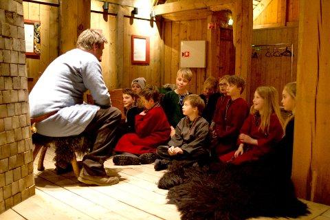 Illustrasjonsfoto: Museum Nord inviterer til fortellerstund for barn.