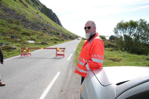 Kontrollingeniør Allan Lorentzen i Statens vegvesen (bildet er tatt i 2018).